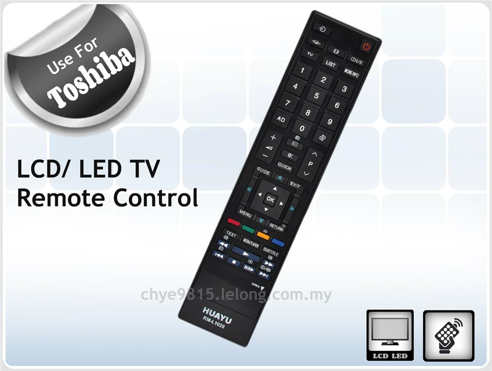 Remote Control For Toshiba LCD LED L End 2 15 2019 515 PM