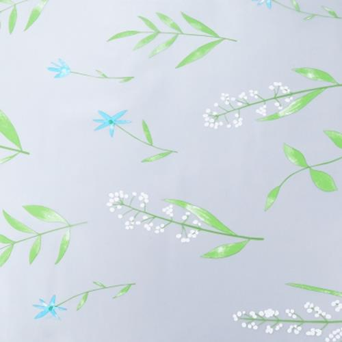 REMOVABLE WINDOW BATHROOM SHOWCASE FILM COVER WALLPAPER DECORATION - ORCHIDS F