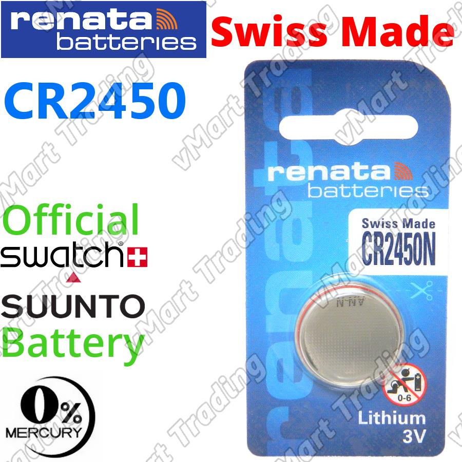 RENATA CR2450N CR2450 3V Lithium Cell Battery