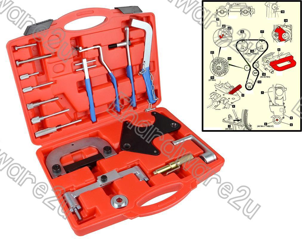 RENAULT ENGINE TIMING TOOL SET (4770)