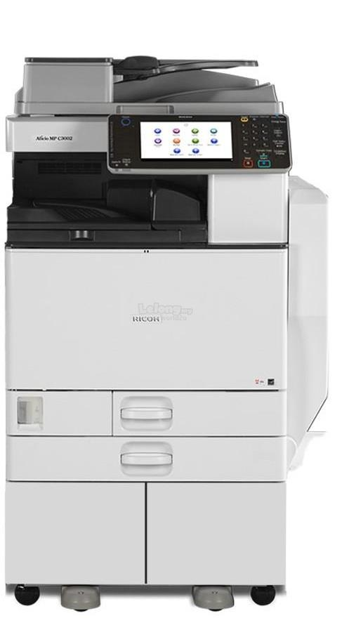 Rental MPC3002 4in1 Copy Print Scan FaxPhotocopier Photostat Rental