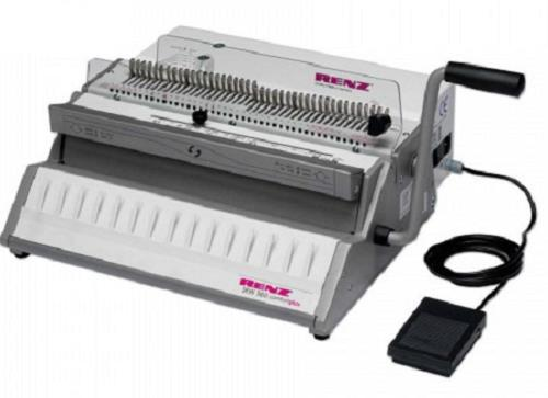 RENZ  SRW360 ComfortPlus Wire-O Electric Binder
