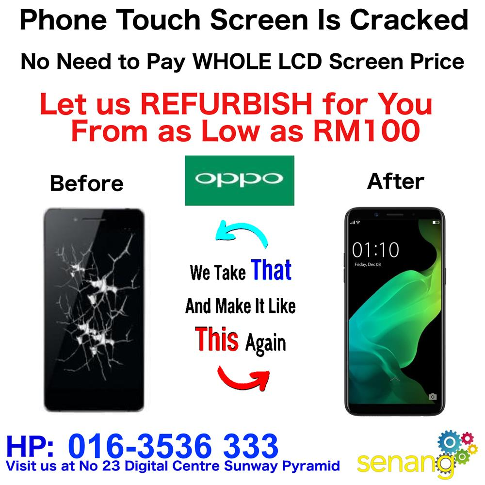 Repair Original OPPO F5 Youth LCD Screen Outer Screen Broken OPPO F5