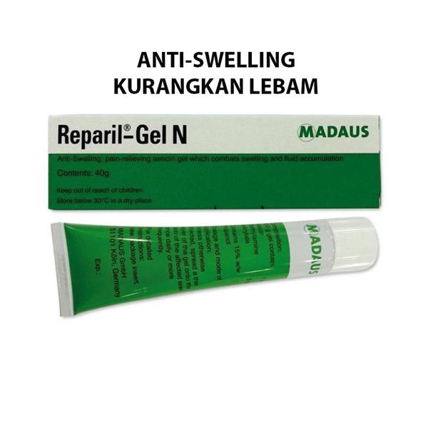 Reparil Gel 40g Anti Swelling / Anti Bruise/ Lebam