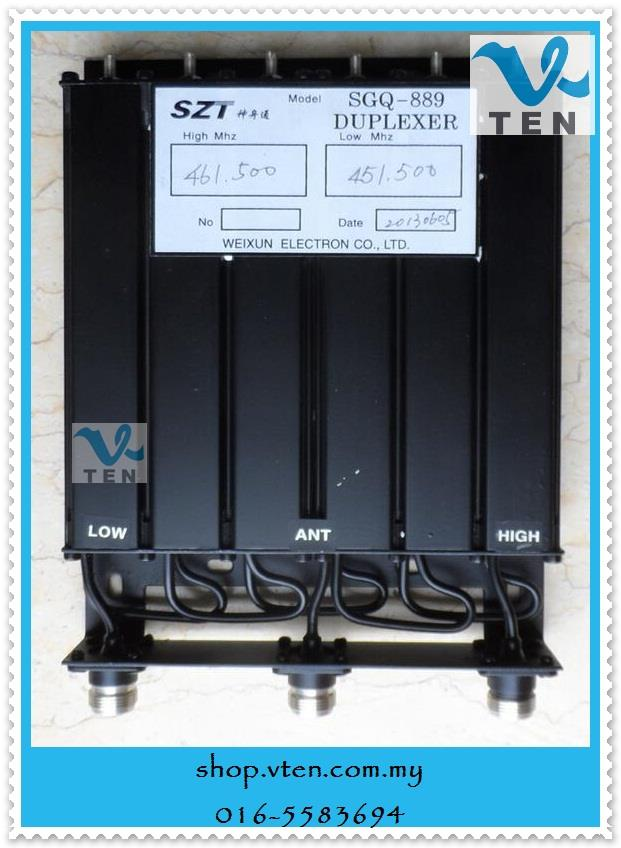 Repeater Duplexer 25W-50W UHF Or VHF