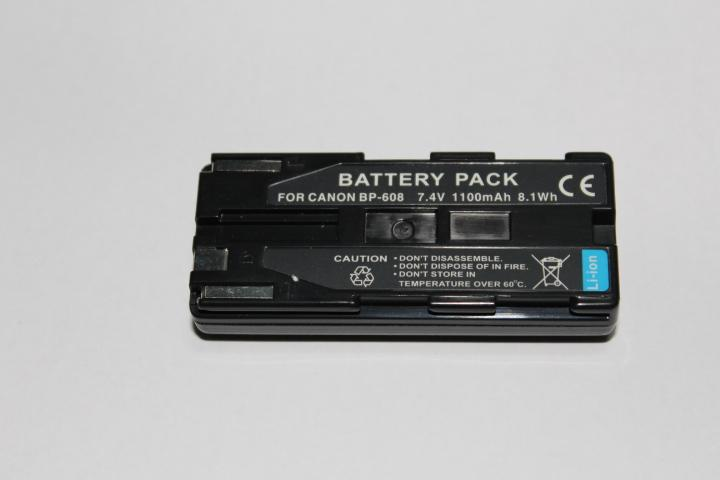 Replacement Battery for Canon BP-608