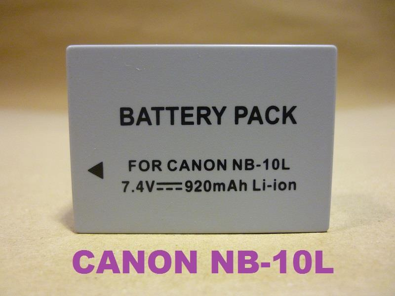 Replacement Battery for Canon NB-10L