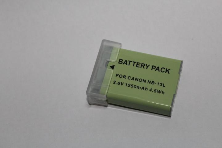 Replacement Battery for Canon NB-13L