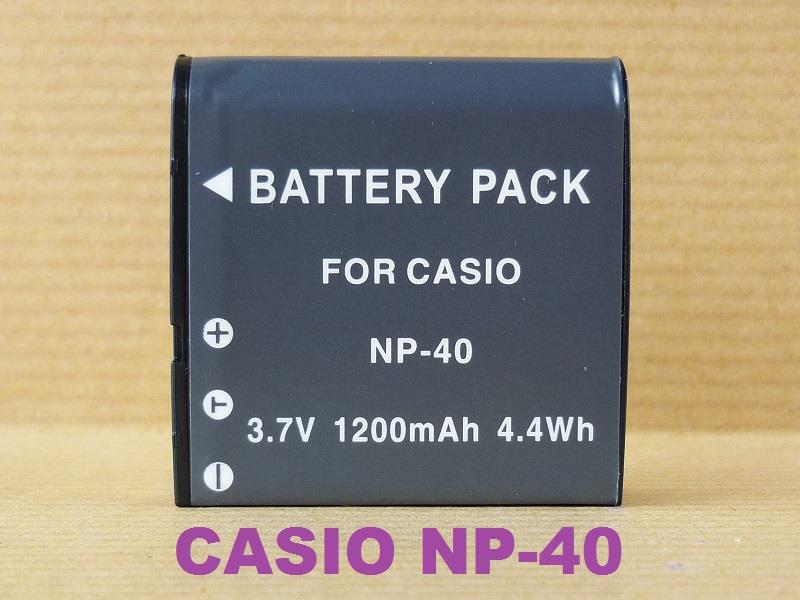 Replacement Battery for Casio CS NP-40