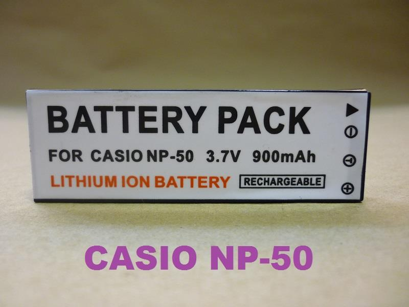 Replacement Battery for Casio CS NP-50