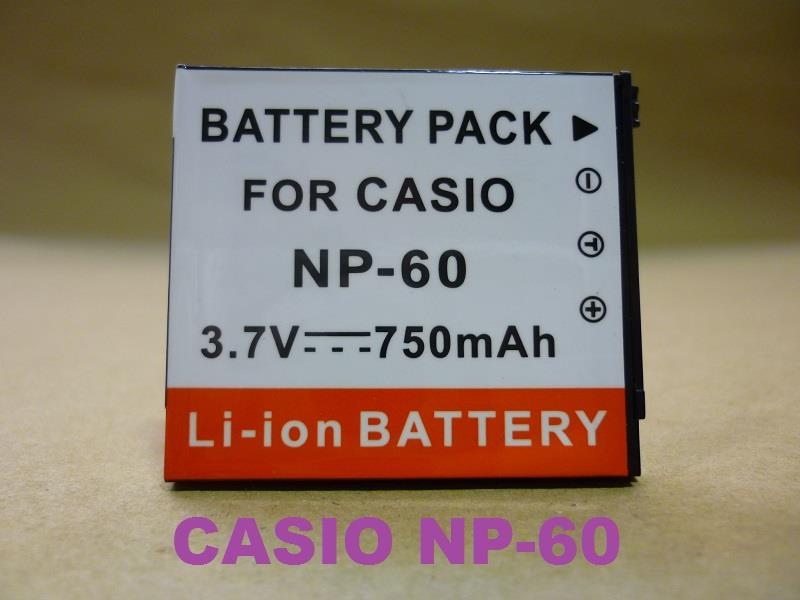 Replacement Battery for Casio CS NP-60