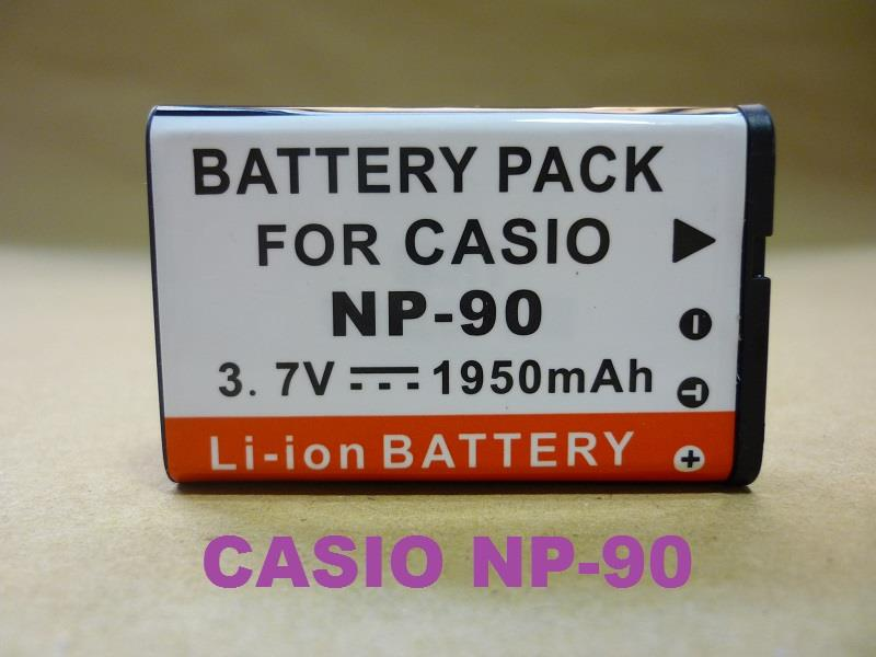 Replacement Battery for Casio CS NP-90