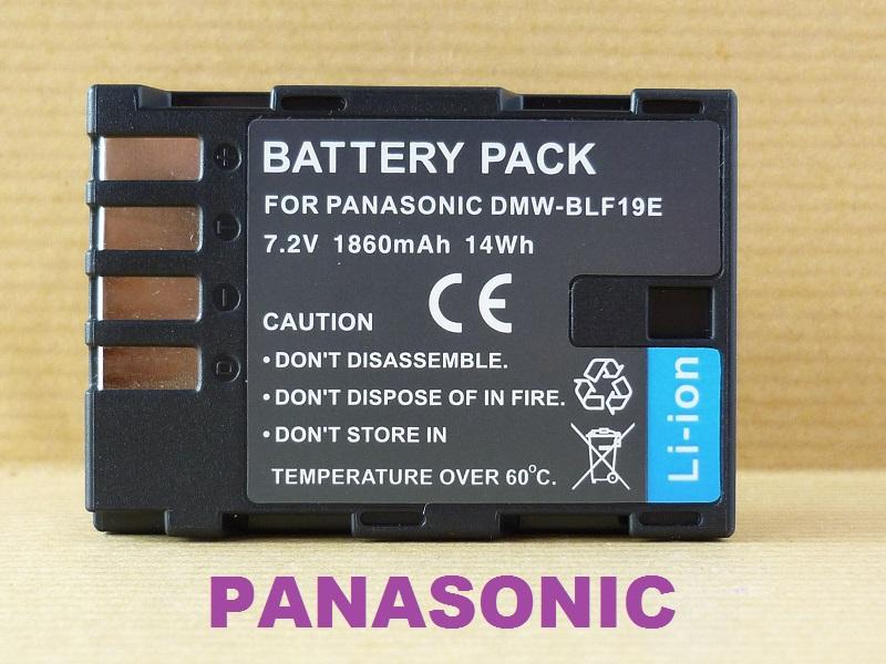 Replacement Battery for Panasonic DMW-BLF19 BLF19E