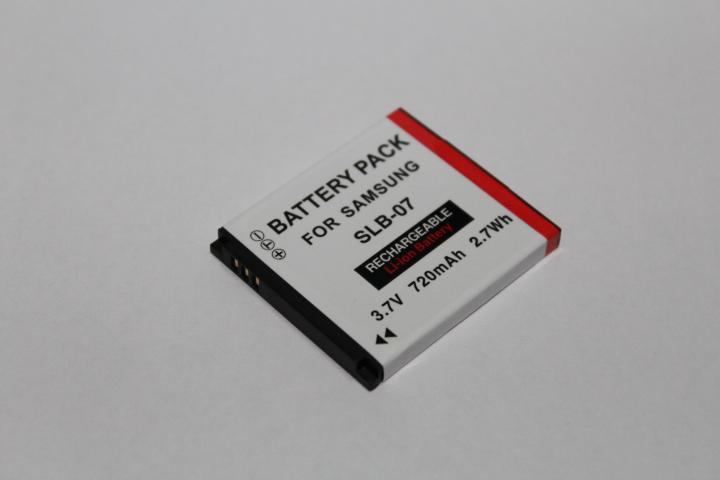 Replacement Battery for Samsung SLB-07