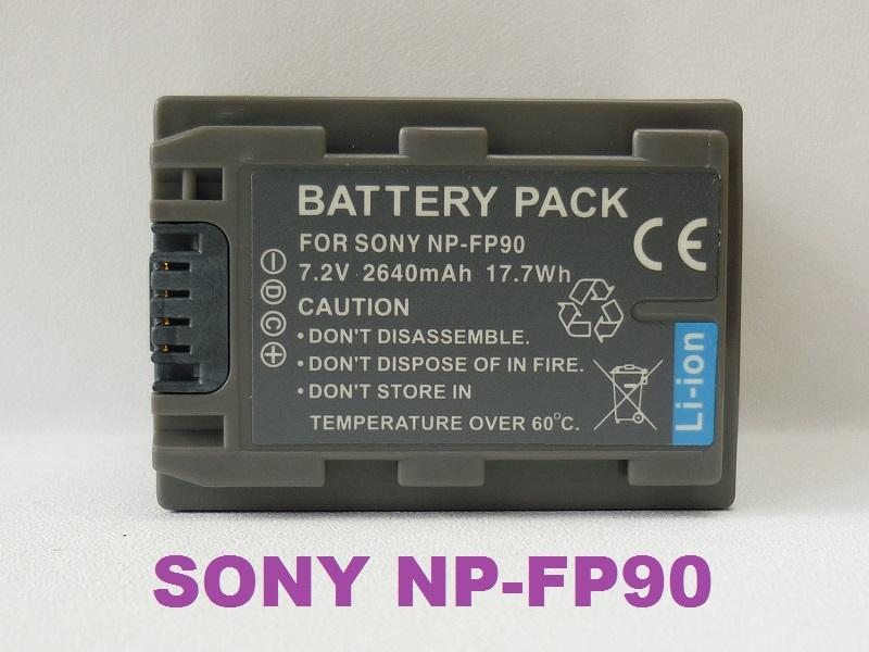 Replacement Battery for Sony NP-FP90