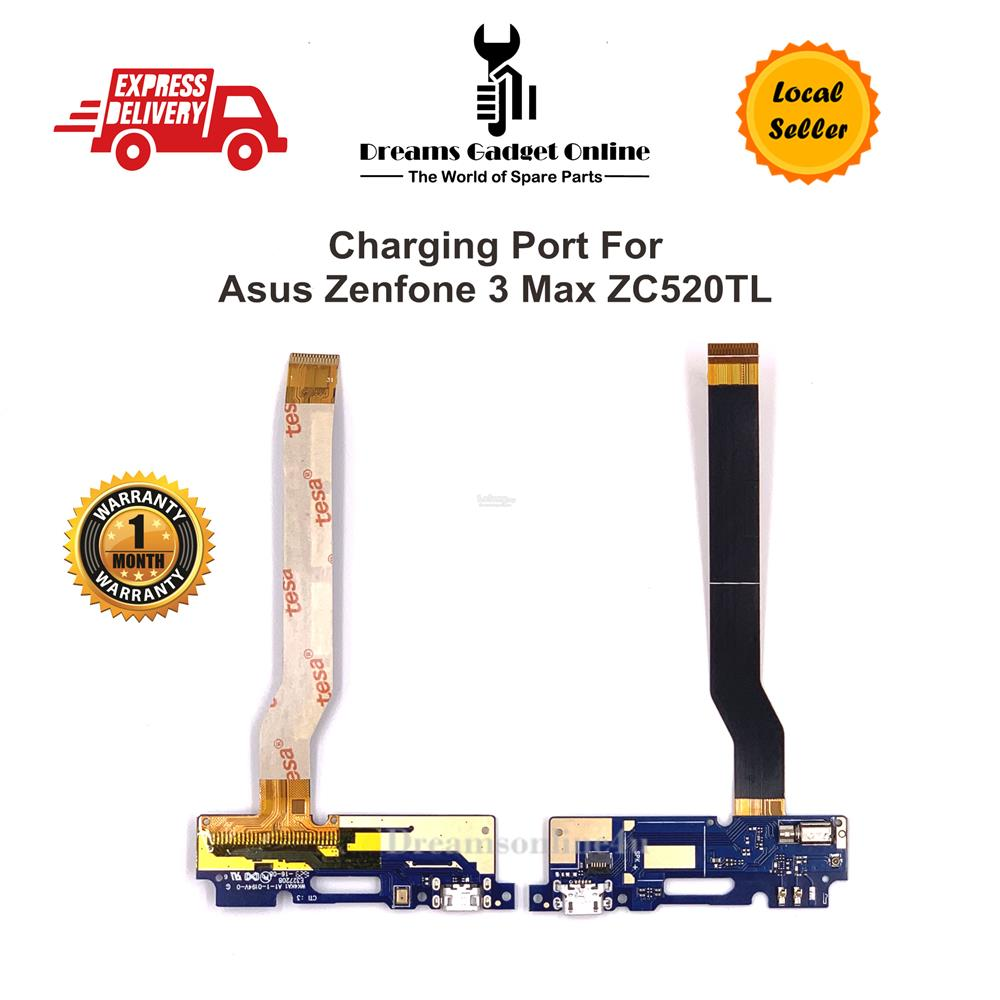 Replacement Charging Port Board with Mic Asus Zenfone 3 Max ZC520TL