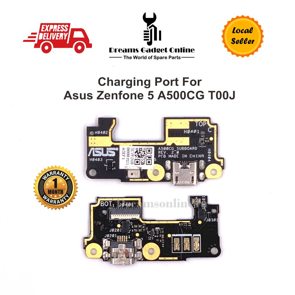 Replacement Charging Port Board with Mic Asus Zenfone 5 A500CG T00J