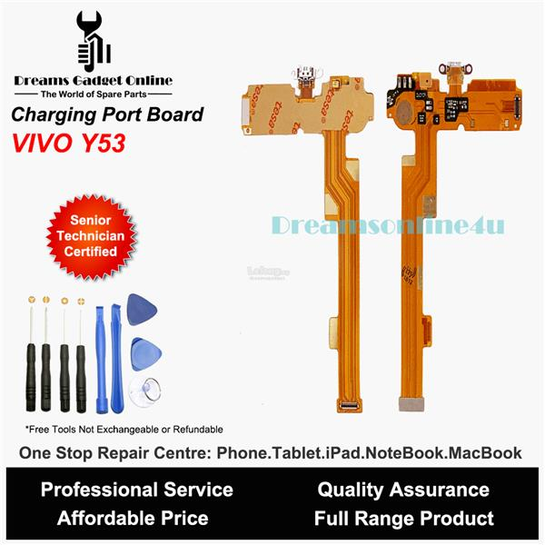 Replacement Charging Port Board with Mic for Vivo Y53 (full IC)
