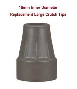 Replacement Crutch Tips for Walking Aid 16 mm Size