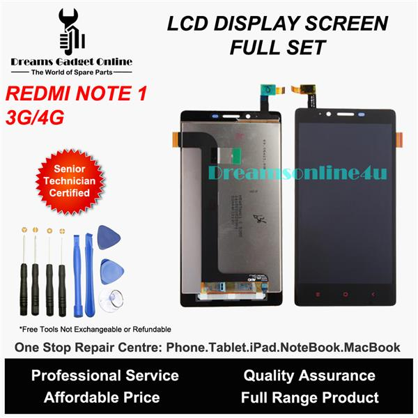 Replacement LCD Touch Screen Digitizer for XiaoMi Redmi Note 1 3G 4G