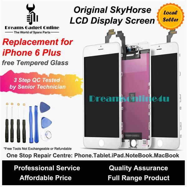 best sneakers ca80b c7cb4 Replacement Original SkyHorse Luxury Full Set LCD for iPhone 6 Plus