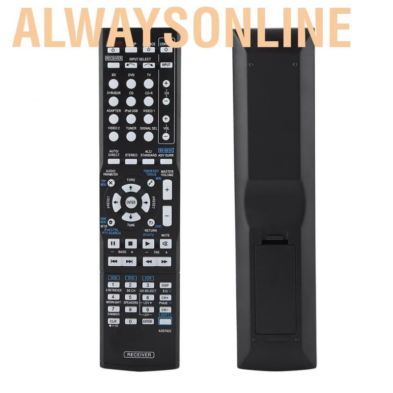 Replacement Remote Control For Pioneer Axd7622 Av Receiver