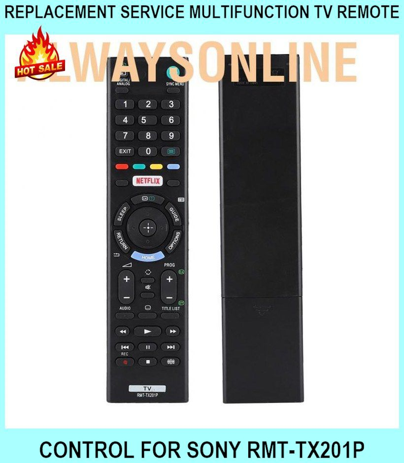 Replacement Service Multifunction Tv Remote Control For Sony Rmt-tx201