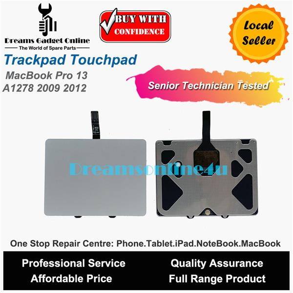 Replacement Trackpad Track Pad Touch Pad for MacBook Pro 13 A1278