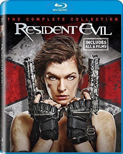RESIDENT EVIL: THE COMPLETE SET BLU RAY 6 DISC US IMPORT NEW SEALED