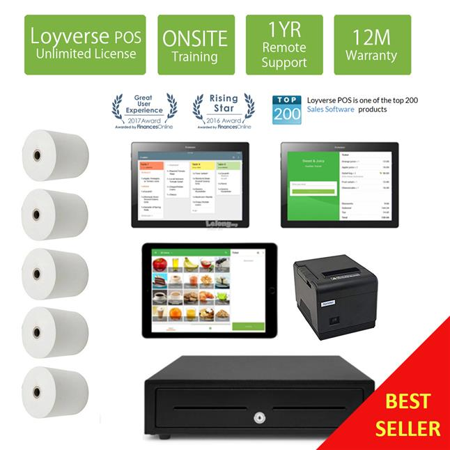 Restaurant F&B Point of Sale Loyverse Free POS Advanced Package