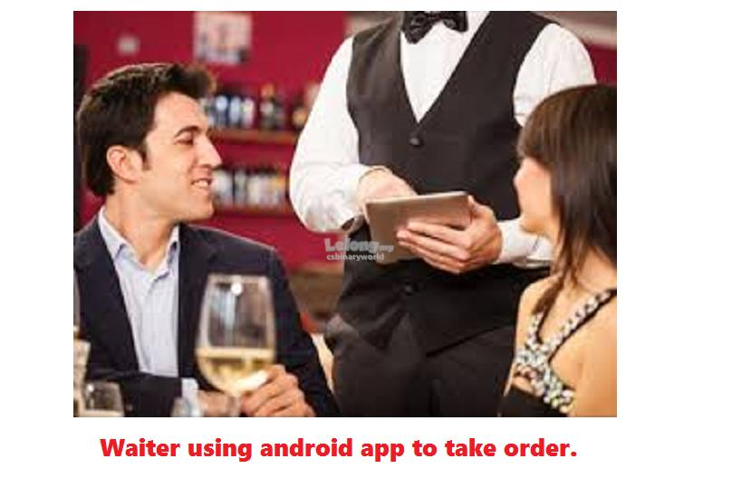 Restaurant POS System with Waiter Ordering App