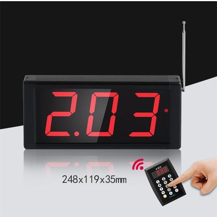 Restaurant Wireless Number Call System Waiter Counter Cashier Calling