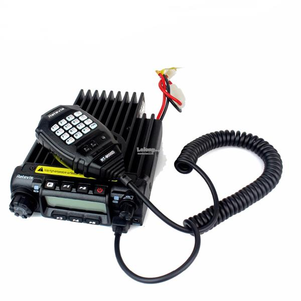 Retevis Mobile Radio VHF 66-88MHz 60W 200CH 50CTCSS/1024DCS 8 Group's