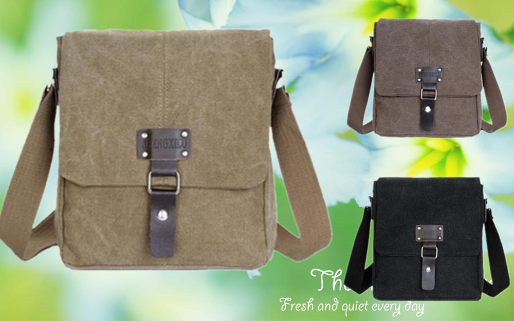 3d7bcc00eda3 Retro Men Canvas Bag Messenger Bag Sh (end 3 5 2020 5 36 PM)