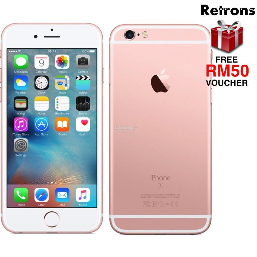++ RETRONS ++ APPLE IPHONE 6 PLUS RED   ROSE GOLD ORIGINAL REFURBISHED 7cc0fc4d5e