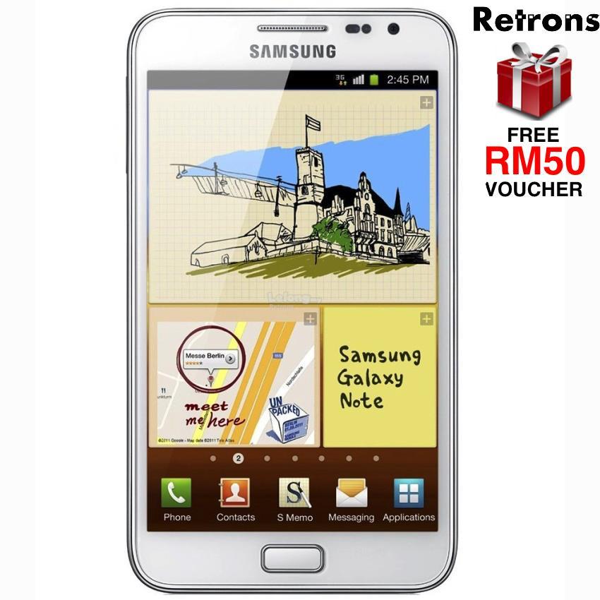 ++ RETRONS ++ SAMSUNG NOTE 1 N7000 (5 3' SUPER AMOLED 16 + 1GB S PEN)