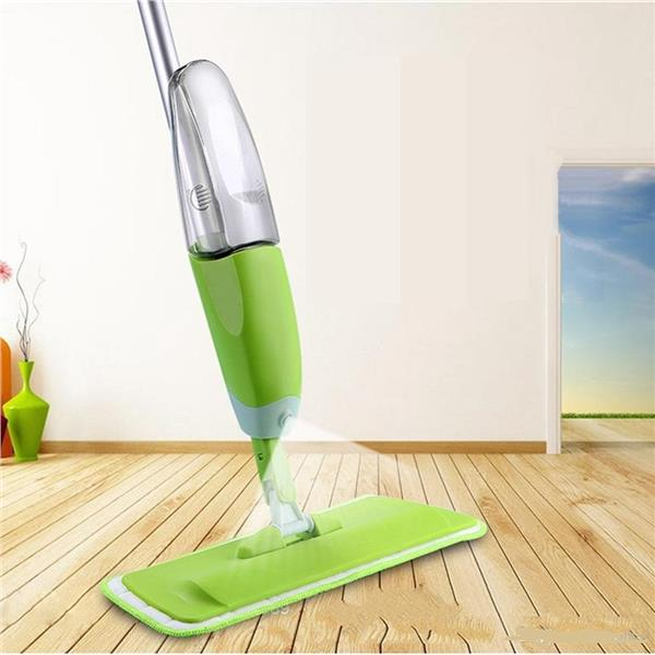 Reusable Microfiber Spray Mop 360 Rotate Brush Washable Cleaning Mop