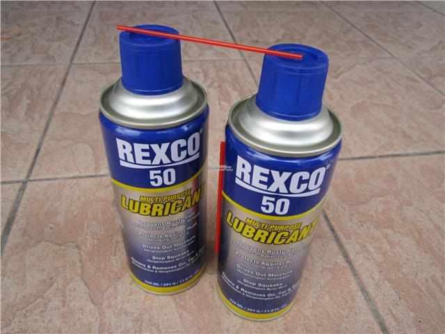 Rexco 50 Multi Purpose Lubricant Spray (350ml x 2)