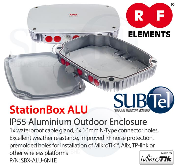 RF Elements StationBox ALU Outdoor Weatherproof Enclosure Malaysia