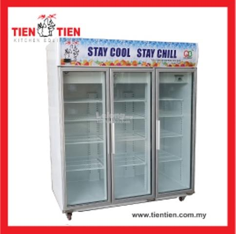 RF/HT22 TIEN TIEN 3 Door Display Chiller Economy (Made in Malaysia)