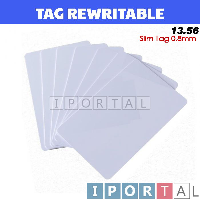 RFID 13.56 ID Card Access RE WRITABLE Read  & Write (Thin)