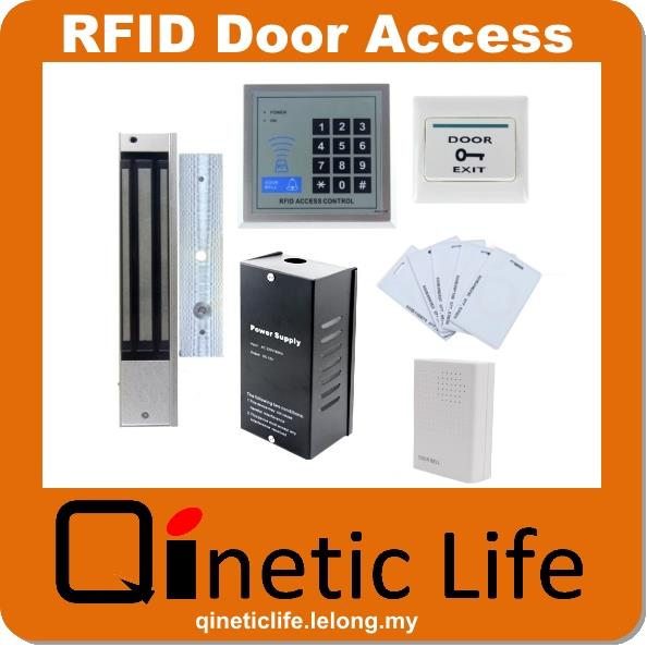 RFID Door Access Control System With Electric 280Kg Magnetic Lock  sc 1 st  Lelong.my & RFID Door Access Control System Wit (end 1/18/2018 11:15 AM)