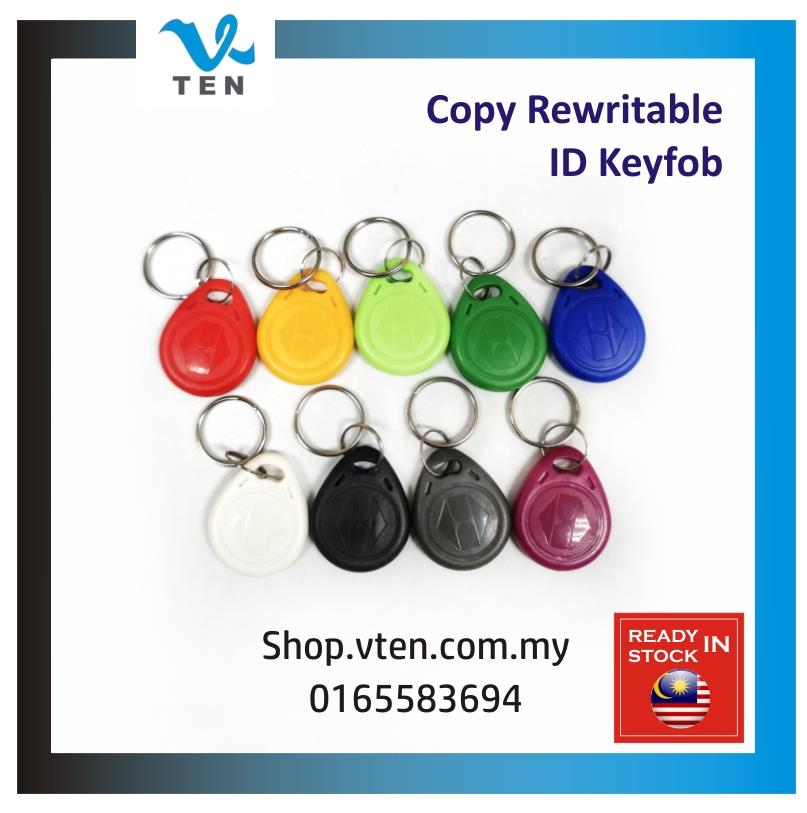 RFID EM4305 5200 CET5557 125KHZ Rewritable ID Card Copy key