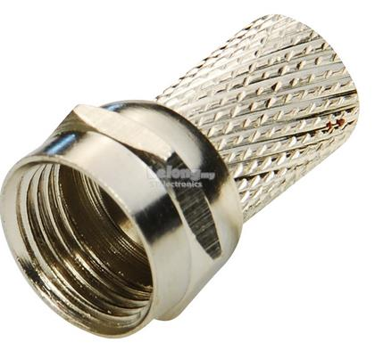 RG6 F connector twist type