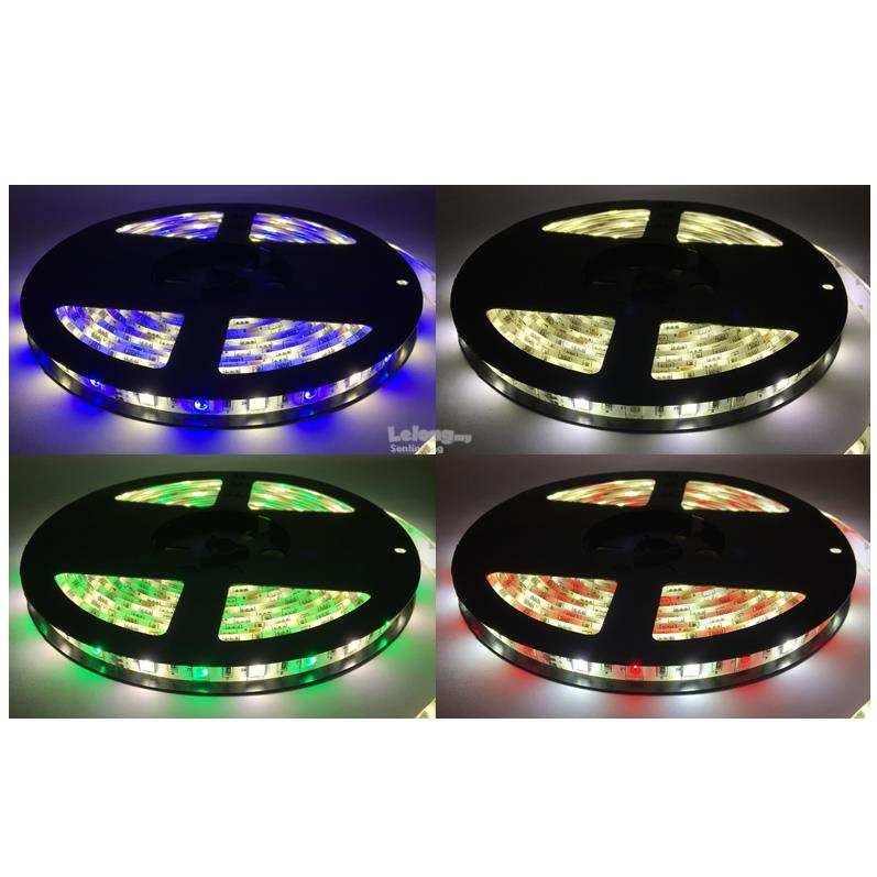 RGB+W / WW 5050 Waterproof LED Strip 5M with Remote 44Keys 5A Adapter