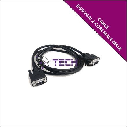 RGB1MM – RGB (VGA) Cable with 2-core (Male-Male)