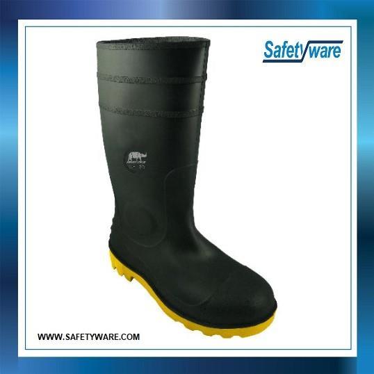 6d056764106 RHINO SHOE Waterproof Series BWB302SP Wellington Safety Boots