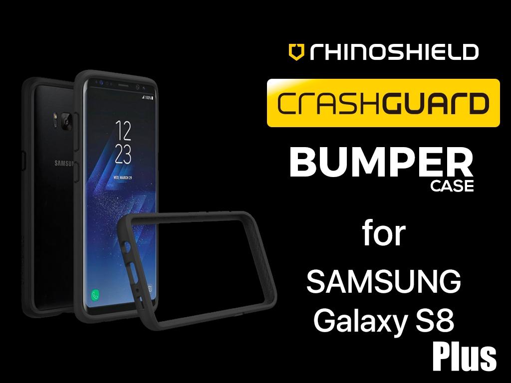 official photos 55b40 cf60f RhinoShield CrashGuard Bumper Case for Samsung S8 Plus