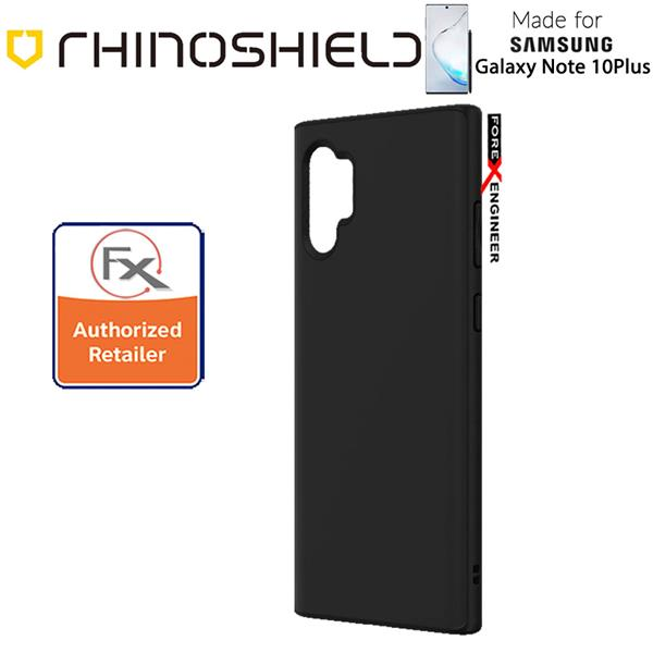 Rhinoshield SolidSuit for Samsung Galaxy Note 10 Plus Classic Black