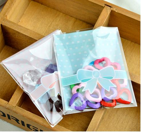Ribbon Biscuit   Cookies Plastic Bag (Self-adhesive) 100pcs. ‹ › be8621f410ee0